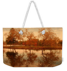 Dancing Trees - Lake Carasaljo Weekender Tote Bag