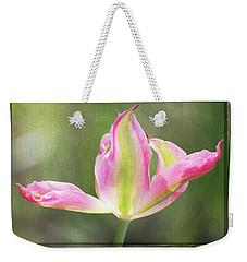 Dancing Tulip Weekender Tote Bag