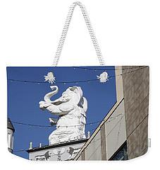 Dancing White Elephant Weekender Tote Bag