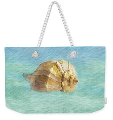 Weekender Tote Bag featuring the photograph Dancing With The Sea by Betty LaRue