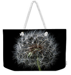 Weekender Tote Bag featuring the photograph Dandelion 1 by James Sage