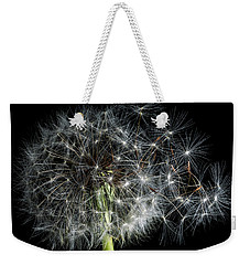Weekender Tote Bag featuring the photograph Dandelion 2 by James Sage