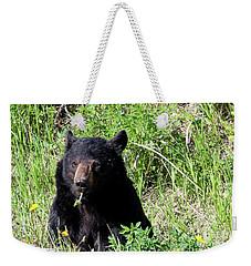 Dandelion Bear Weekender Tote Bag