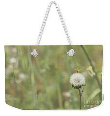 Dandelion Weekender Tote Bag by Cindy Garber Iverson