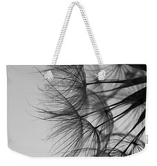 Weekender Tote Bag featuring the photograph Dandelion Close Up by Jan Bickerton