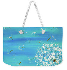 Dandelion Flight Weekender Tote Bag