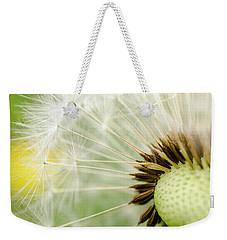 Dandelion Fluff Weekender Tote Bag by Rainer Kersten