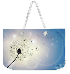 Dandelion In A Summer Breeze Weekender Tote Bag