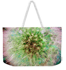 Weekender Tote Bag featuring the photograph Dandelion by Jasna Dragun