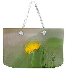 Weekender Tote Bag featuring the photograph Dandelion May 2015 Painterly by Leif Sohlman