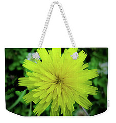 Dandelion Symmetry Weekender Tote Bag