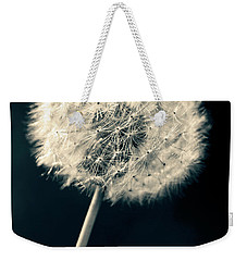 Weekender Tote Bag featuring the photograph Dandelion by Ulrich Schade