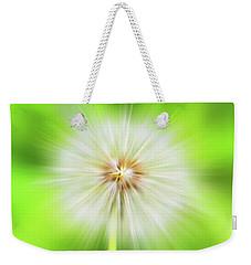 Dandelion Warp Weekender Tote Bag