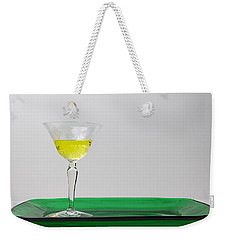 Weekender Tote Bag featuring the photograph Dandelion Wine by Susan Capuano