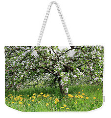 Dandelions And Apple Blossoms Weekender Tote Bag