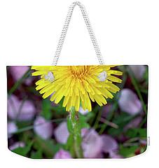 Dandelions And Petals Weekender Tote Bag