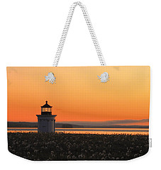 Dandelions At Sunrise Weekender Tote Bag