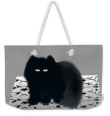 Weekender Tote Bag featuring the digital art Dandy by Asok Mukhopadhyay