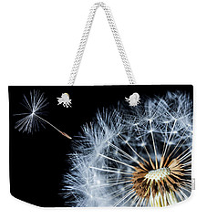 Weekender Tote Bag featuring the pyrography Dandy by Bess Hamiti
