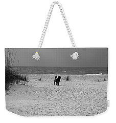 Dandy On The Beach Weekender Tote Bag by Michiale Schneider