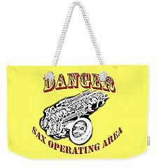 Danger Sax Operating Area Weekender Tote Bag