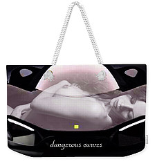 Dangerous Curves Weekender Tote Bag