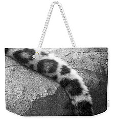 Dangling And Dozing In Black And White Weekender Tote Bag