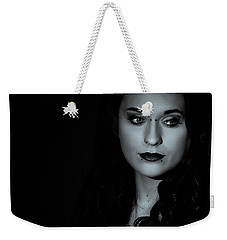 Weekender Tote Bag featuring the photograph Dani by Ian Thompson