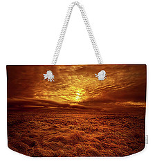 Weekender Tote Bag featuring the photograph Dare I Hope by Phil Koch