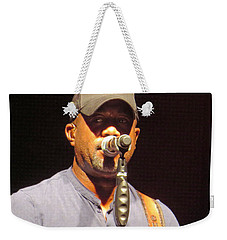 Darius Rucker Live Weekender Tote Bag by Aaron Martens