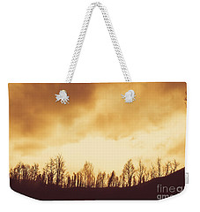 Weekender Tote Bag featuring the photograph Dark Afternoon Woodland by Jorgo Photography - Wall Art Gallery