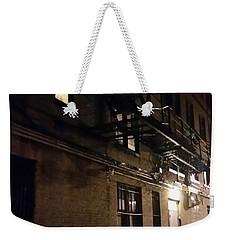 Dark And Rainy Night Weekender Tote Bag