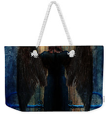 Dark Angel At Church Doors Weekender Tote Bag