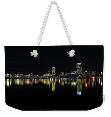 Dark As Night Weekender Tote Bag