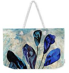 Dark Blue Weekender Tote Bag by Sarah Loft