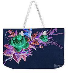 Dark Bouquet Weekender Tote Bag