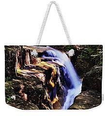 Dark Cascade Weekender Tote Bag