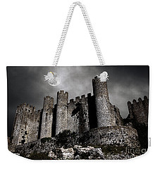 Dark Castle Weekender Tote Bag by Carlos Caetano