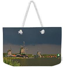 Dark Clouds Above Zaanse Schans Weekender Tote Bag