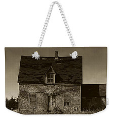 Weekender Tote Bag featuring the photograph Dark Day On Lonely Street by RC DeWinter