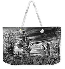 Weekender Tote Bag featuring the photograph Dark Days by Brian Wallace