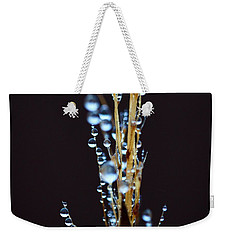 Dark Drops Weekender Tote Bag