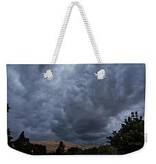 Dark Electric Weekender Tote Bag
