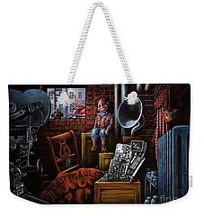Dark Exile Weekender Tote Bag