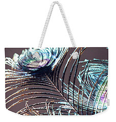 Dark Feathers Weekender Tote Bag by Angela Murdock