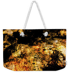 Dark Ferris Wheel Weekender Tote Bag