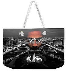 Dark Forces Controlling The City Weekender Tote Bag by ISAW Gallery