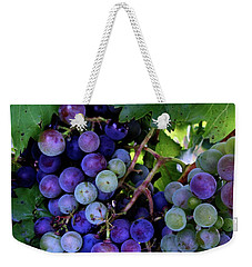 Dark Grapes Weekender Tote Bag
