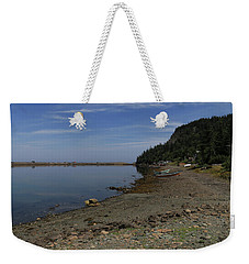 Dark Harbour Pond Weekender Tote Bag