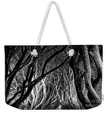 Dark Hedges Kings Road Weekender Tote Bag